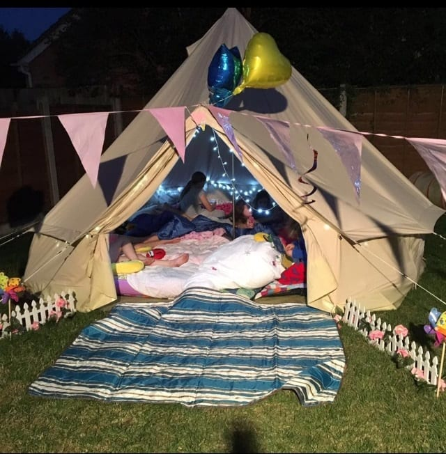 Bell Tents & Prices | Childrens Party Caravan Hull East Yorkshire