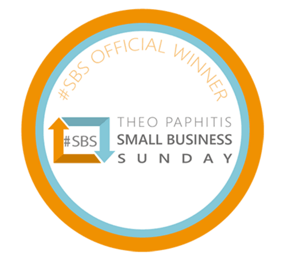 We won Theo Paphitis Small Business Sunday!!