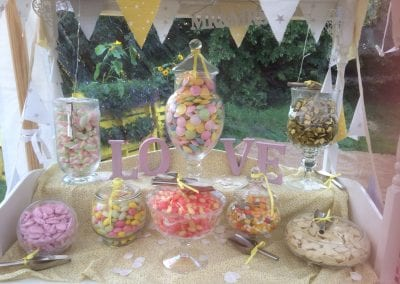 Candy Table inc Sweets from £150