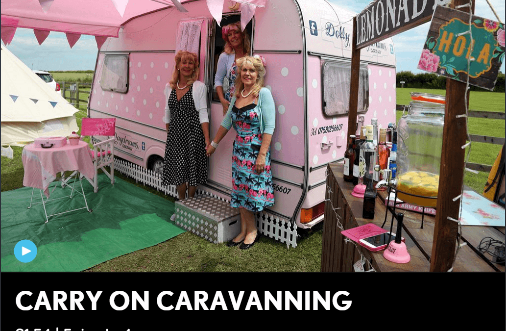As seen on Channel 5's Carry on Caravaning!!